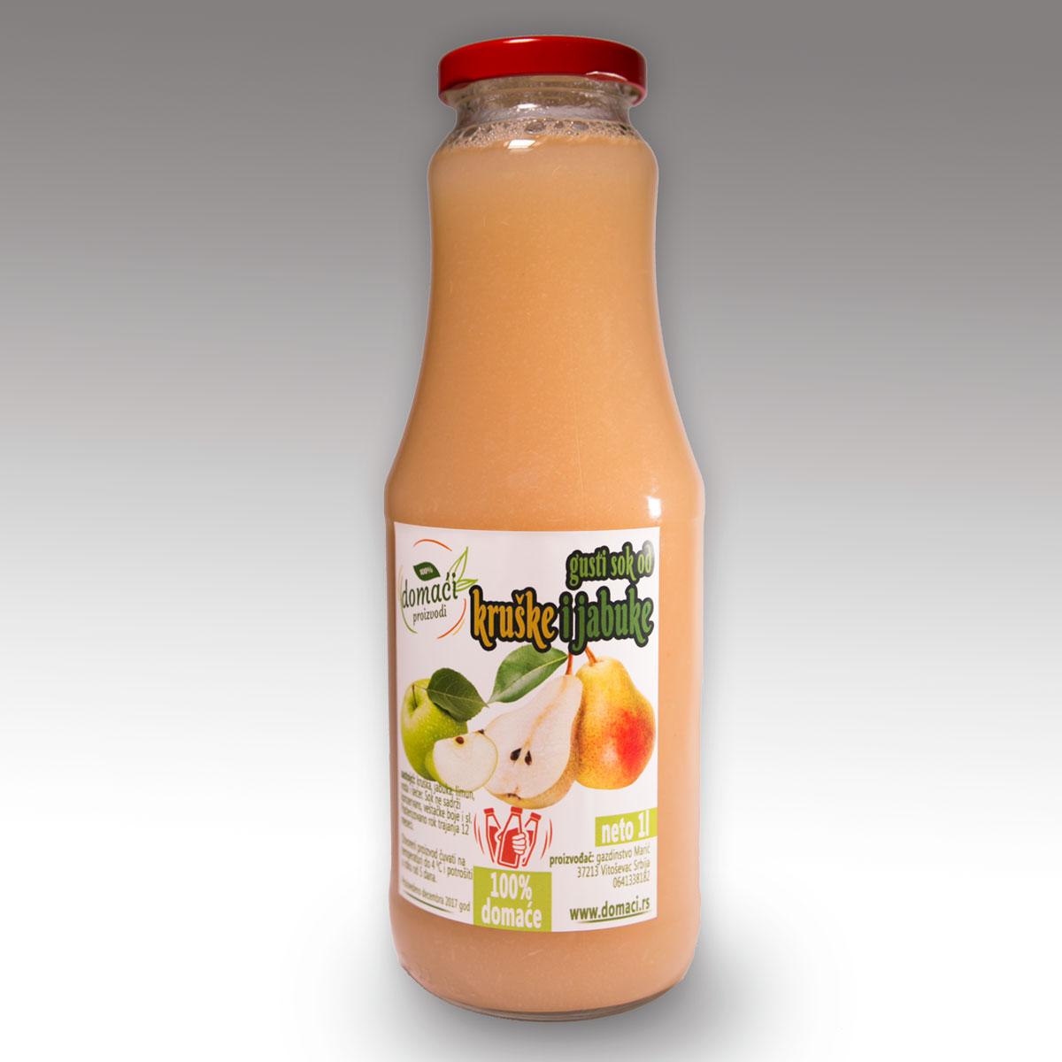 gusti sok kruska i jabuka